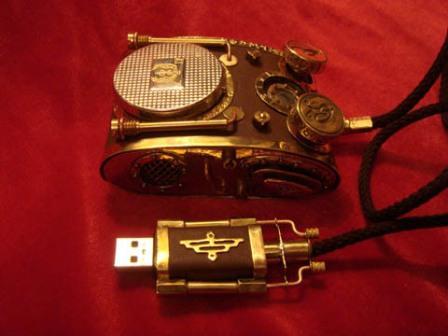 Mouse maria-fumaça (steampunk)