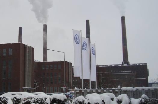 Fábrica da Volkswagen na Alemanha