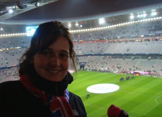 Andrea no Allianz Arena