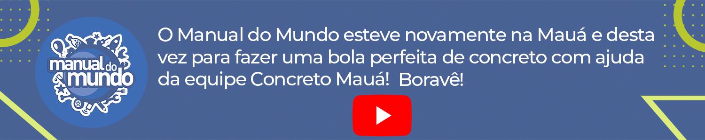 Link permanente para: Fizemos a BOLA PERFEITA DE CONCRETO! Manual do Mundo na Mauá